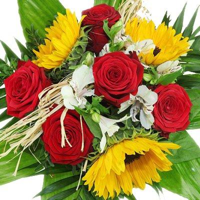 hundeinfo24.de Blumenstrauß Sommerzauber – Blumenversand Rosenbote