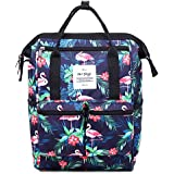 HotStyle DISA Mini Small Tropical Backpack Purse - Tropical Flamingos