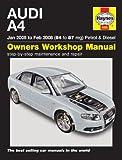 Manuel Haynes pour Audi A4essence et diesel 2005-2008 (français non garanti)