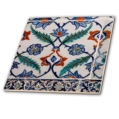 3dRose Asien, Türkei, Istanbul, Topkapi. Detail der berühmten Palace Iznik Fliesen. -Ceramic Fliesen, 15,2cm (CT 209121_ 2) -