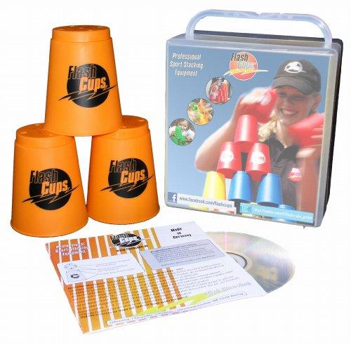 FlashCups 1004ORANGE - FlashCups orange, mit DVD