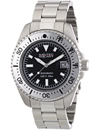 Nautec No Limit Herren-Armbanduhr Deep Sea STSTSLBK