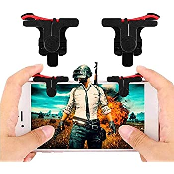 Lieven ● Mortal Triggers for Immortal Game Play ● PUBG Mobile Controller Trigger ● Claw Specialist ● for All Android and iOS Devices (Red Black)