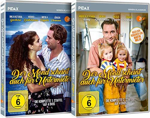 Der Mond scheint auch für Untermieter - Gesamtedition / Die komplette Serie auf 8 DVDs (Pidax Serien-Klassiker)