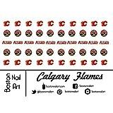 NHL - Calgary Flames Waterslide Nail Dec...
