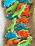 KENIAO Set Formine Biscotti Dinosauro per Bambini Taglierina Stampi Biscotti - 6 Pezzi - T-rex, Triceratopo, Stegosauro, Brontosauro, Pterodattilo e Bebè Dinosauro - Acciaio Inossidabile