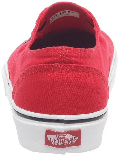 Vans Era Laceless, Unisex - Erwachsene Sneakers Rot