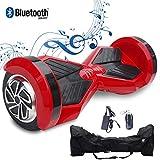 2WD Hoverboard 8'' ElektroScooter Rad-selbstausgleichender Roller Zwei mit Bluetooth und. LED-Licht-elektrischem Roller 8