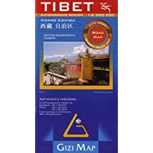 TIBET AUTONOMOUS REGION 1/2M  (ROAD MAP)