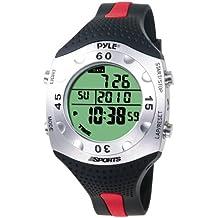 Pyle PSWDV60R - Reloj digital deportivo, color rojo