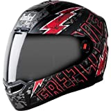 Steelbird SBA-1 Free Live Matt Black with Red with Smoke visor,600mm