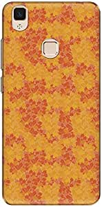 The Racoon Grip printed designer hard back mobile phone case cover for Vivo V3. (Pale Fall)