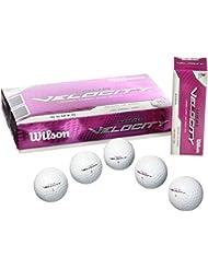 Wilson Staff Tour Velocity Woman Ensemble de 15 balles de golf