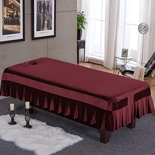 Schönheit Bettlaken,Massage Laken Für,elastische Laken Mit Loch Auflage Für Behandlungsliege-p ()