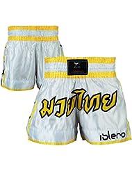 Islero Muay Thai Short de combat/MMA/Arts Martiaux Kick Boxing grappling UFC Gear hommes