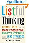 Listful Thinking: Using Lists to Be M...