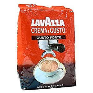 kaffee espresso lavazza crema e gusto forte bohnen 1 kg lebensmittel getr nke. Black Bedroom Furniture Sets. Home Design Ideas