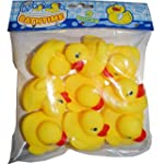 Bathtime Water Toys 9 Rubber Ducks