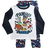 Paw Patrol Ökotex Standard 100 Schlafanzug Kollektion 2017 Pyjama 92 98 104 110 116 Langarm Jungen Neu Weiß-Blau