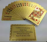 24k £50 Pound GOLD PLATED POKER PLAYING CARD-BRAND NEWSTOCKP