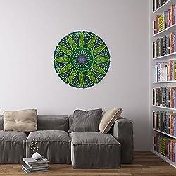 Geometric Sunshine Mandala Pegatina / Calcomania / Vinilo Decorativo para Paredes en el Hogar