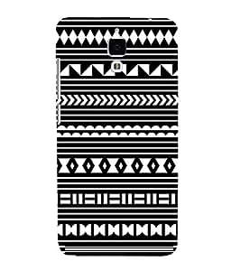 FUSON Greek Key Pattern Background 3D Hard Polycarbonate Designer Back Case Cover for Xiaomi Redmi Mi 4 :: Redmi Mi 4