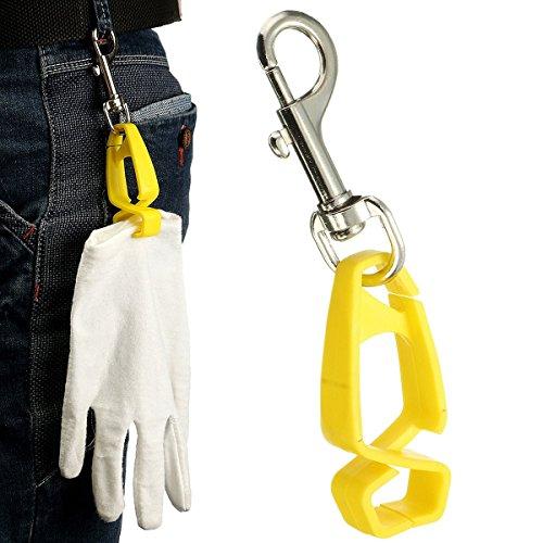 ExcLent Safety Glove Guard Clip Halter Keeper zum Anbringen von Handschuhen Handtücher Brille Helme