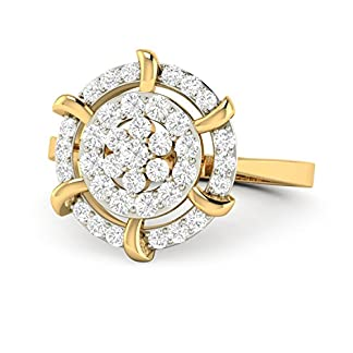 PC Jeweller The Carelyn 18KT Yellow Gold & Diamond Rings