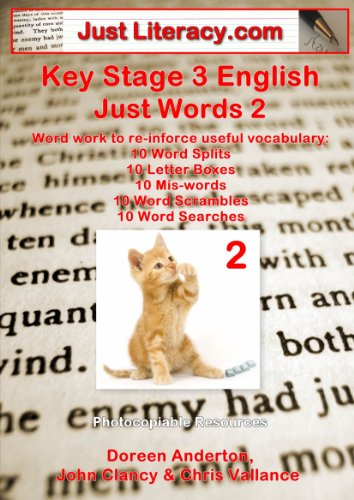 Just Literacy.com: KS3 English - Just Words 2