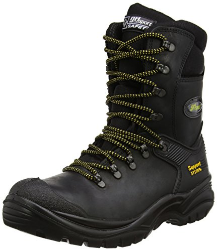 Grisport Men's Combat S3 Safety Boots Black AMG004 11 UK