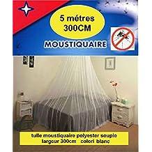 Tul mosquitera 5 métres X 300 cm, gran anchura total: 15 m2, para