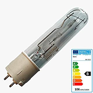 Bäro Entladungslampe BFL 3312 100 Watt Sockel PG12X Lebensmittellampe