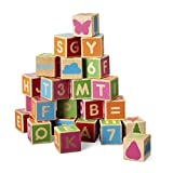 Micki 10.2135.00 - Bausteine mit Buchstaben, 36 Stück