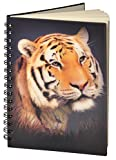 "3D Cahier 50 pages ""Tigre"""