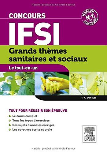 Grands thmes sanitaires et sociaux Concours IFSI
