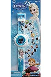 FROZEN 24 IMAGES PROJECTOR WATCH(COLOUR MAY VARY)