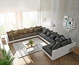 DELIFE Couch Clovis XXL Wohnlandschaft