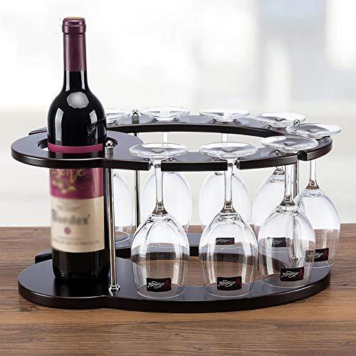 AG Home Weinregal, Dekoratives Weinregal, Restaurantdekoration Weinregal , Weinregal Freistehende Arbeitsplatte Weinkühler Flaschenständer Halterung (Weinkühler Arbeitsplatte)