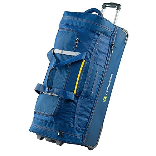 caribee-scarecrow-dx-85cm-rolling-luggage-wheeled-holdall-duffel-bags-2017-model-abyss-blue