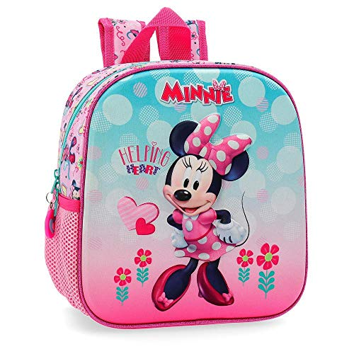 Disney Minnie Heart Zainetto per bambini 25 centimeters 5.75 Rosa