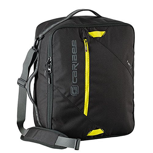 CARIBEE VAPOR 40L CARRY ON TRAVEL BAG (BLACK) (Carry On Travel Bag)