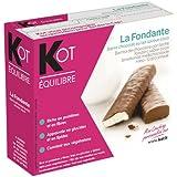 KOT Barre Minceur Protéinée La Fondante Chocolatée au lait saveur coco - Boîte de 6 -