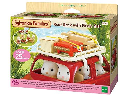 Sylvanian Families 5048 Dachgepäckträger mit Picknick-Set, Multicolour
