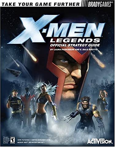 X Men Gamecube - X-Men? Legends Official Strategy