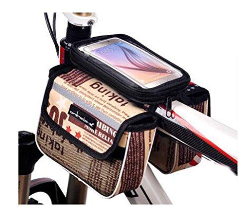 Bike Bag Bunte Fahrrad Lenker Pakete für 6 Zoll Telefon Multi-Funktions-Fahrrad-Zubehör#12