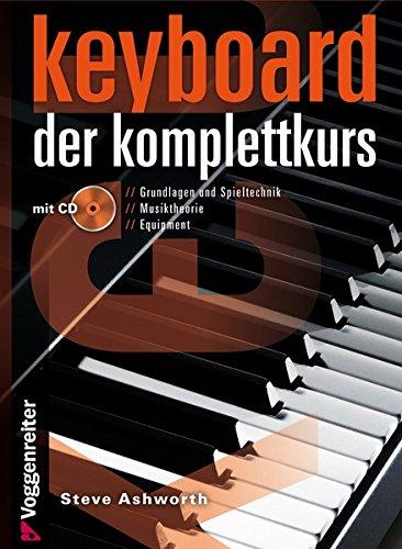 Keyboard - Der Komplettkurs (Ringbindung im Hardcover mit CD)