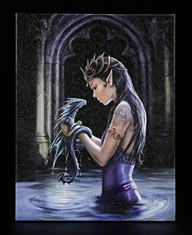 Petite toile-shop anne stokes water dragon by-impression dragon