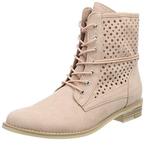 Marco Tozzi Damen 25101 Combat Boots, Pink (Rose), 41 EU