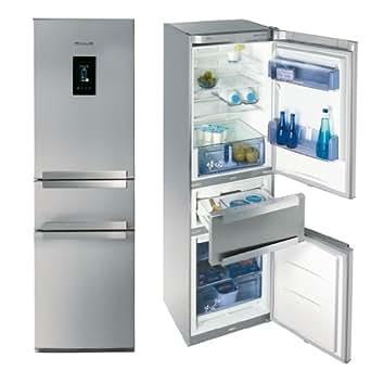 Brandt COMBI3DX Réfrigérateur combiné 295L Classe: A+ Inox