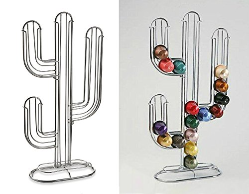 lado-cactus-52-nespresso-coffee-capsule-pod-holder-si-k1005-stand-tower-rack-storage-chrome-silver